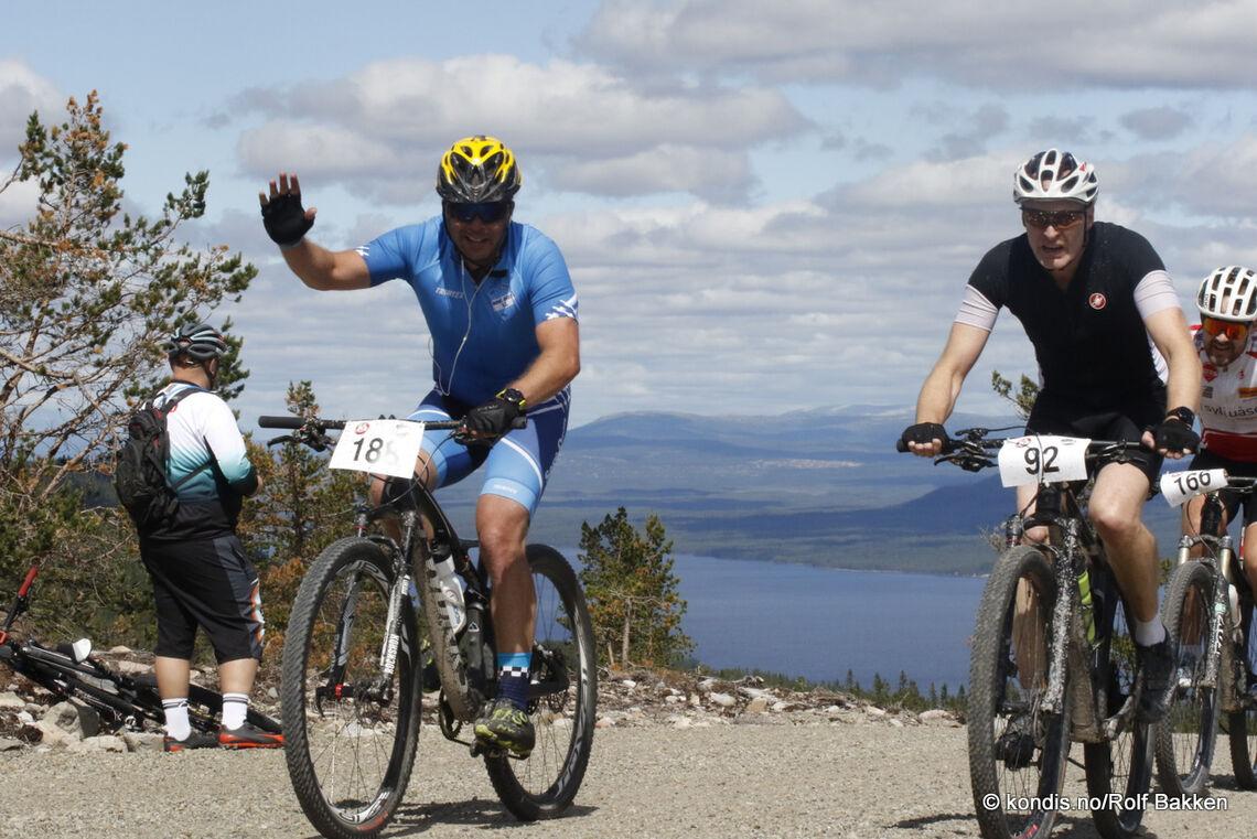 Det ble en ny Trysil-Knut-suksess for Søre Osen IL og Ingar Kristiansen med det 74 km lange rittet med et knallsterkt felt lørdag.