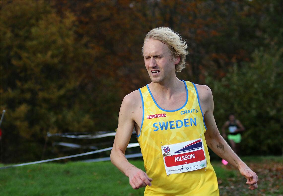 David Nilsson satte svensk 5 km-rekord med 13.58 - KONDIS - norsk  organisasjon for kondisjonsidrett