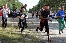 Best på den lengste løypa var Nina Smestad, Løten OL og Kenneth Bilstad, Vang OL. (Foto: Stein Arne Negård)