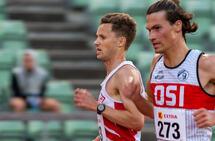 10 000: Andreas Myhre Sjurseth foran Eivind Klokkehaug: Andreas var klar best av disse to med en 6. plass.
