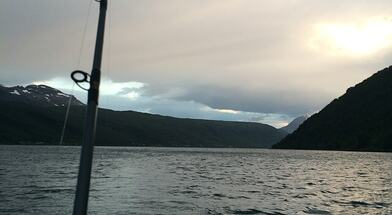 Båt, fiske og padle