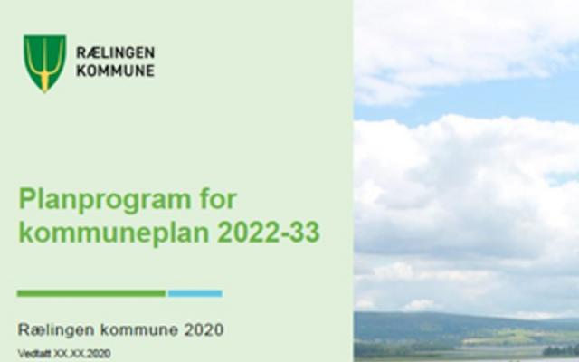 Planprogram kommuneplan 2022-2033