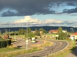 Fjerdingby - bussterminal og Rælingen bygdetun