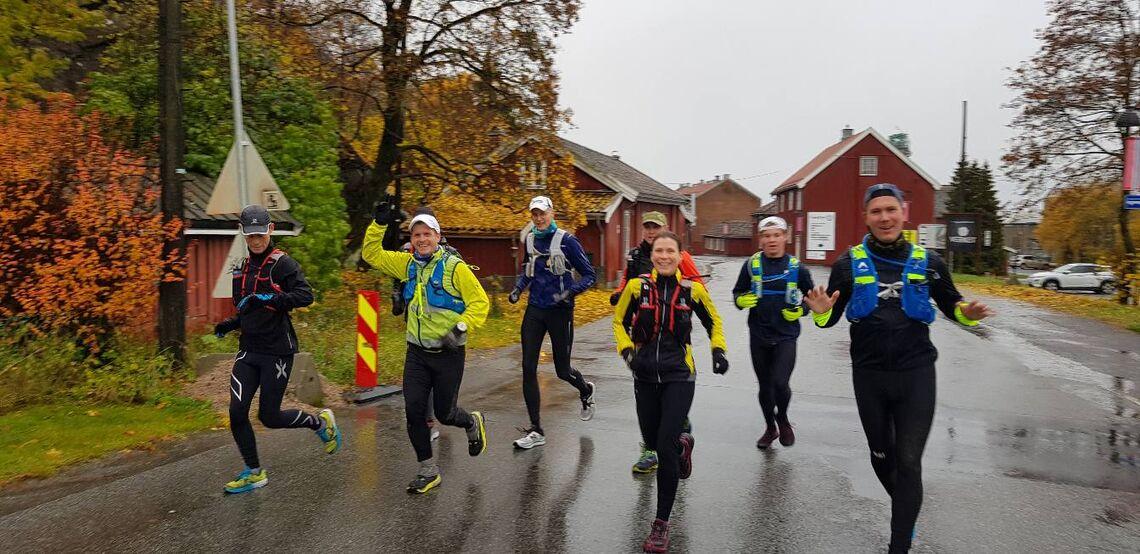 Oslofjorden Rundt arrangeres for tredje gang lørdag 1. august, men første gang siden 2015. Bildet er fra en treningstur i løypa i oktober 2019. (Foto: Tomas Pinås)