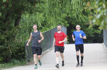 Hva mer enn rolige turer hører med i et treningsprogram for 5 km, 10 km og halvmaraton? (Foto: Kjell Vigestad)