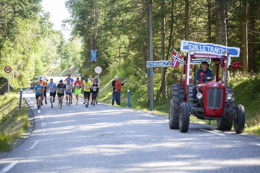 Halvmaratonstart