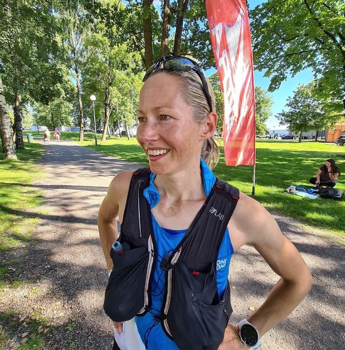 Mari Mauland er en av de som er påmeldt neste års 100 miles langs Oslofjorden. Hun har også fått med seg søsteren Sara. (Foto: Tomas Pinås)