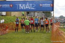 Like før start for den første av seks puljer på halvmaraton.