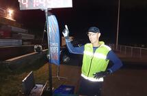 Det ble til slutt Jo Inge Norum fra Hell Ultraløperklubb som vant Last Man Standing - Østmarka Backyard Ultra. (Foto: Leif Abrahamsen)