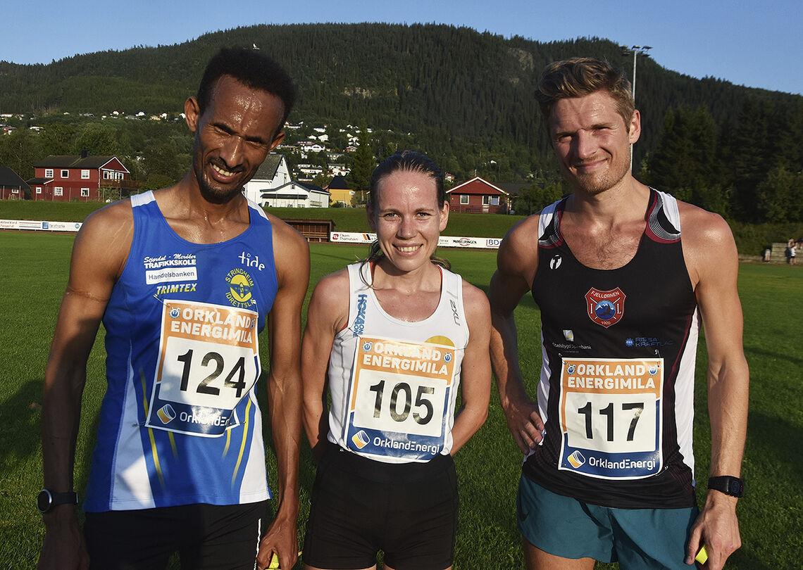 Hanne Mjøen Maridal skilte seg ut blant kvinnene, mens Thomas Fremo (til høyre) var hakket bedre enn Ebrahim Abdulaziz i herreklassen. (Foto: Tor Jarle Bolme)