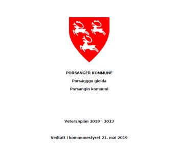 Veteranplan for Porsanger 2019 - 2023