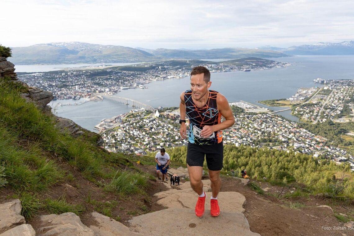 Eirik Haugsnes var overlegent raskest i Sherpatrappene, slik han også var i Extremløpet før trappene kom. (Foto: MSM, Zoltan Tot)