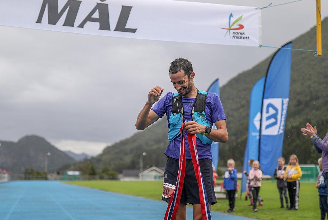 Kilian Jornet var, ikke uventet, suveren vinner av langløypa i Moon Valley Run Festival. (Alle foto: arrangøren)