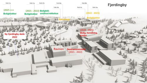 Oversiktskart Fjerdingbyutviklingen