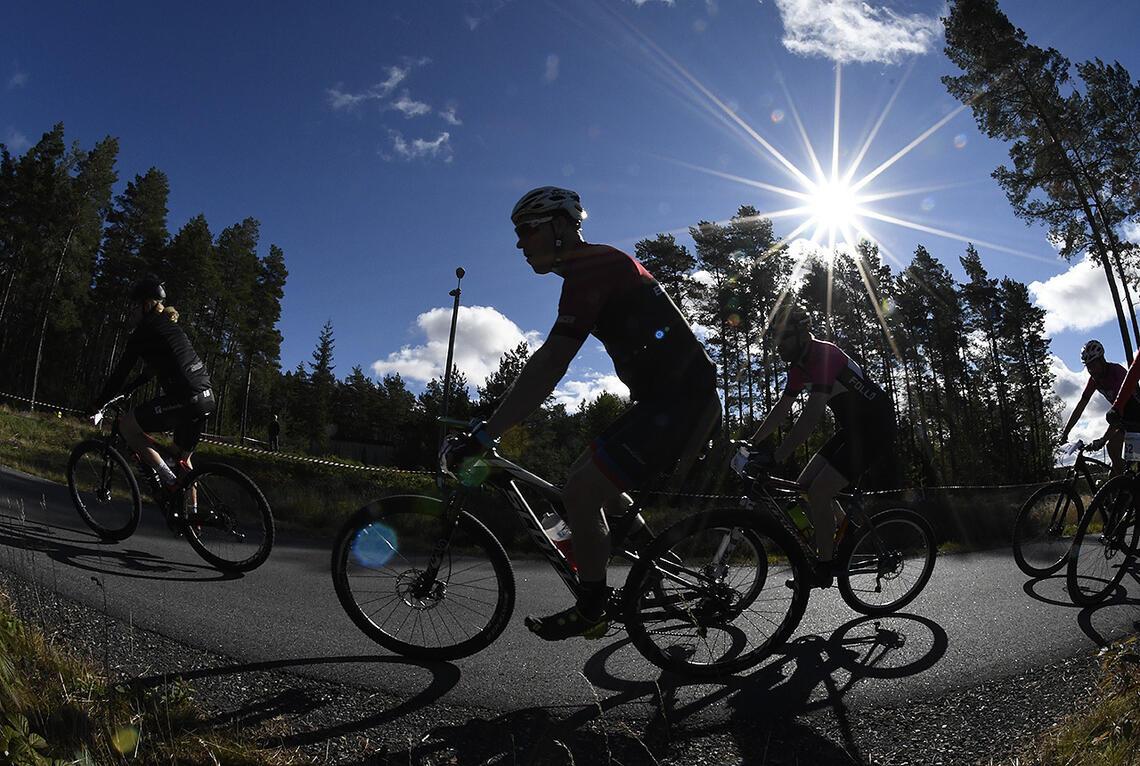 Også i år ble det en light-utgave av Grenserittet som normalt går mellom Strømstad og Halden. (Illustrasjonsfoto: Bjørn Johannessen)