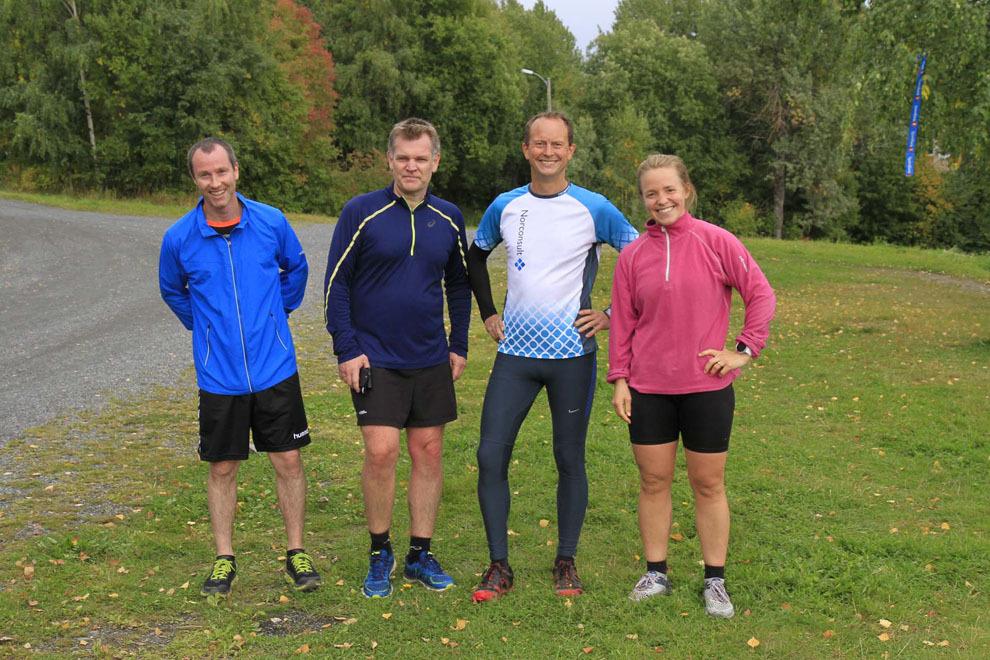06  Fra venstre Terje Eikanger Bjørn Gravrok Petter Kittelsen og Karoline Brøste alle fra Team Norconsult.jpg