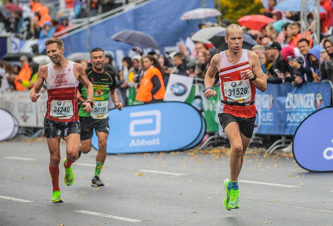 Det er fantastisk å krysse målstreken i en maraton med følelsen av å ha litt krefter igjen og samtidig kjenne at du har fått ut ditt aller beste. Følelsen kan ikke beskrives med ord. (Foto: Sportograf)