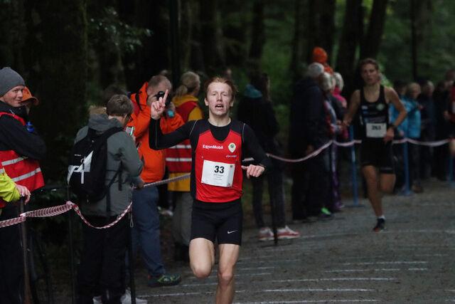 Erik Tangen Gundersen vant herreklassen i Mosvannsløpet. (Alle foto: Marie Kloster)