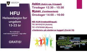 HFU Indre Østfold i Askim og Mysen for Rakkestad ungdom