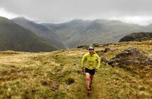 Været var grått, men naturen vakker da Runar Sæther la ut på sin 100 km lange ferd i fjella i Lake District. (Foto: privat)