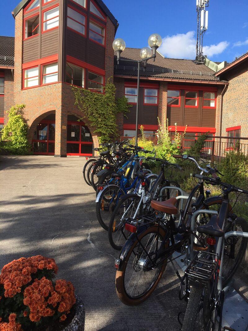 Sykler rådhuset