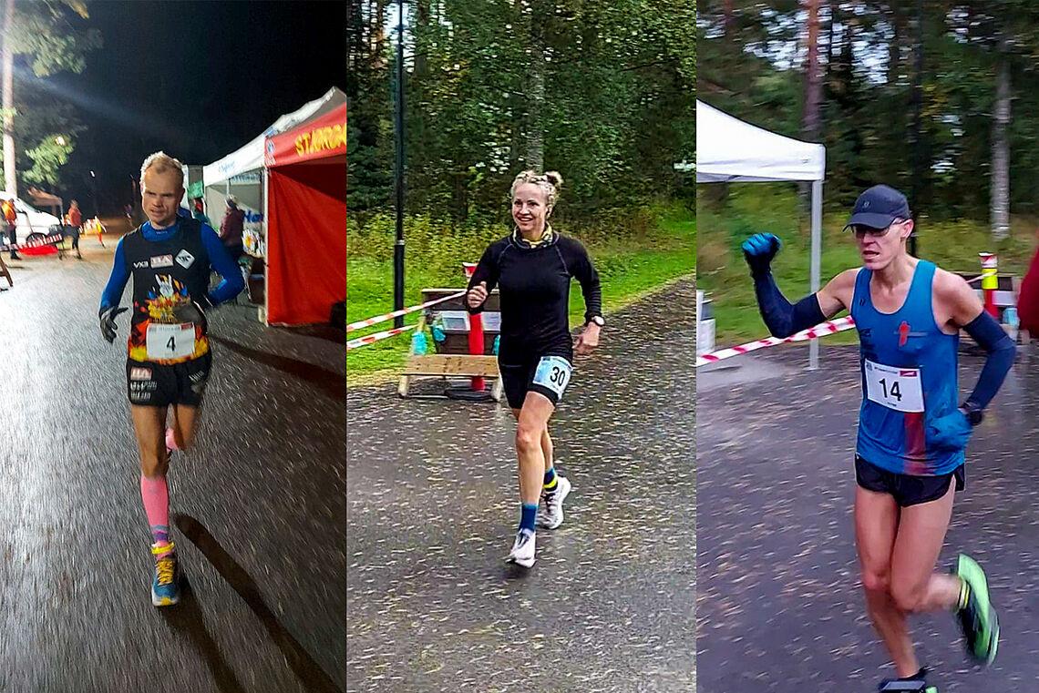 Bjørn Tore Kronen Taranger, Therese Falk og Jo Inge Norum. (Foto: Anders Kjærevik)