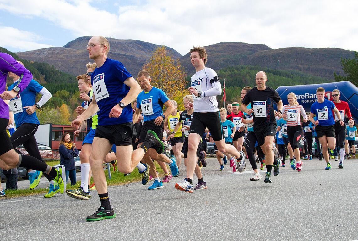 Torvikbukt Rundt arrangeres i år for 48. gang. (Foto: Daniel Kvalvik)