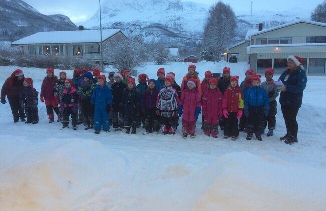 Barn på SFO ©Evy Hansen