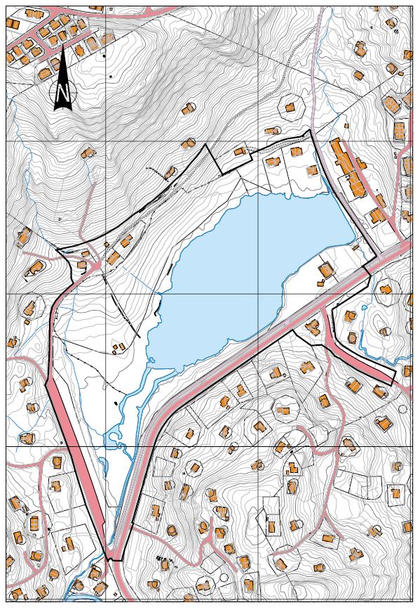 kart planarbeid bortelid sentrum
