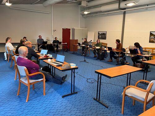 Møte i formannskapet på Vesterland