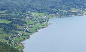 Dronebilde over Soløy ©Kåre Nygård
