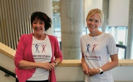 Karin Fornell Stedenfeldt og Kirsten Sundsøy ønsker seg flere kolleger.