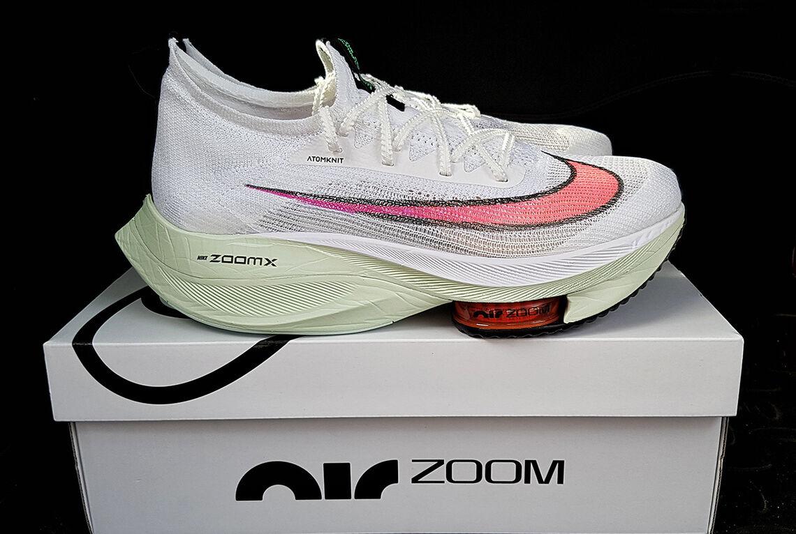 Om hensikten var å løpe raskest mulig, så ville i dag valget mitt falt på Nike Alphafly - som gir meg en prestasjonsforbedring på minst 5 %. (Foto: Bjørn Johannessen)