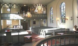 Degernes kirke - kirkerommet - Foto Rakkestad Sokn