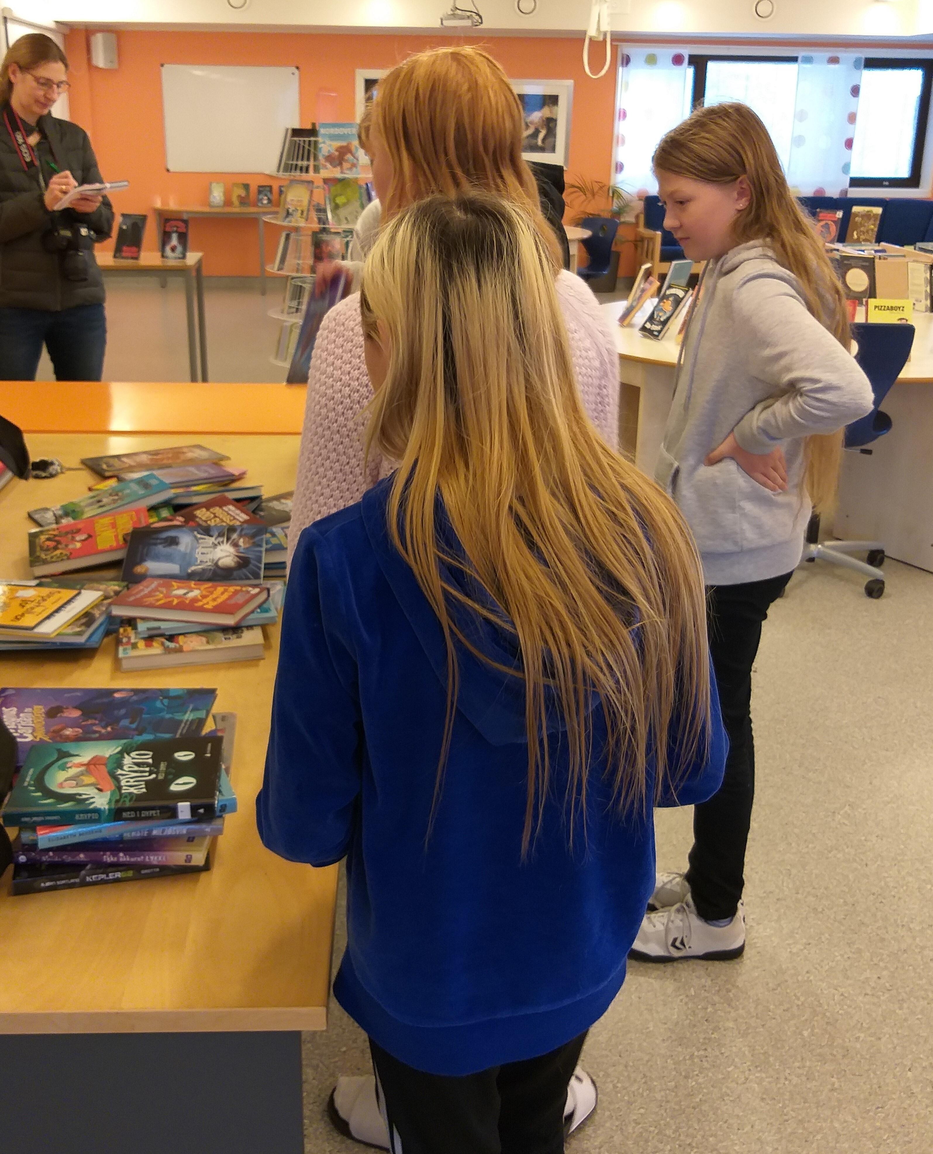 Os skole - spente vinnere av nye bøker til skolen i Sommerles 2020 premie