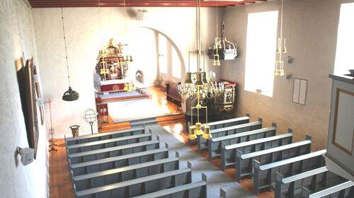 Rakkestad kirke - kirkerommet - Foto Rakkestad Sokn