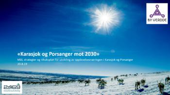 Reiselivsplan mot 203 for Porsanger og Karasjok