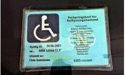 Parkeringskort