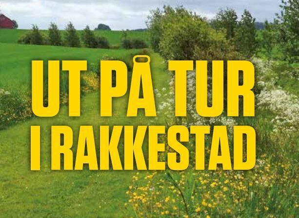 Ut på tur i Rakkestad - brosjyren