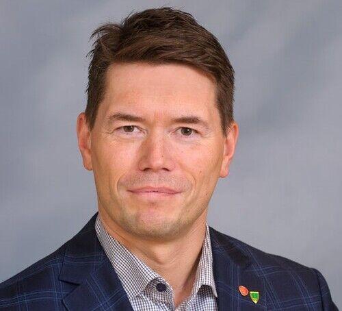 Ordfører Ståle Grøtte portrett