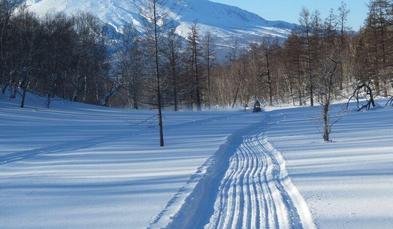 Bilde av snøscooterløype