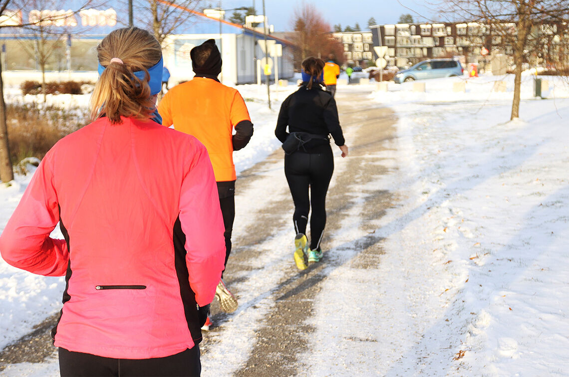 Vinterløping kan være en flott opplevelse. (Foto: Marianne Røhme)