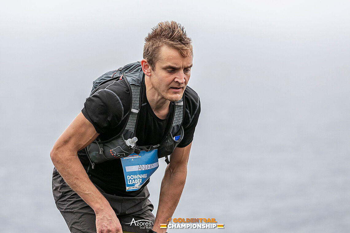 Anders Kjærevik overrasket både seg selv og andre ved å ta en seier i Downhill i Golden Trail Championship. (Foto: arrangør/ (c) Davide Sousa)