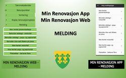 Min Renovasjon App og Web - Melding