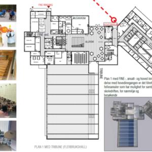 Fjerdingby skole Plan 1 skisser HRTB