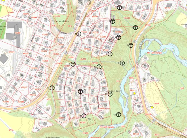 Grønvold kart