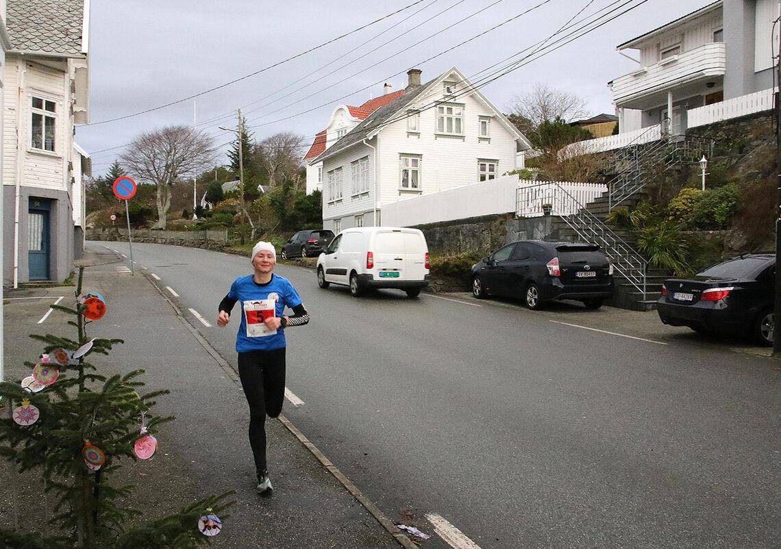 Maryna Novik sette norsk årsbeste på maraton med 2.49.41. (Foto: Terje Gilberg)