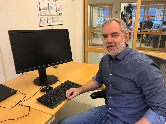 Peter Melien Trojanowski er til daglig å finne ved Meldal legekontor. Foto: Steinar Larsen