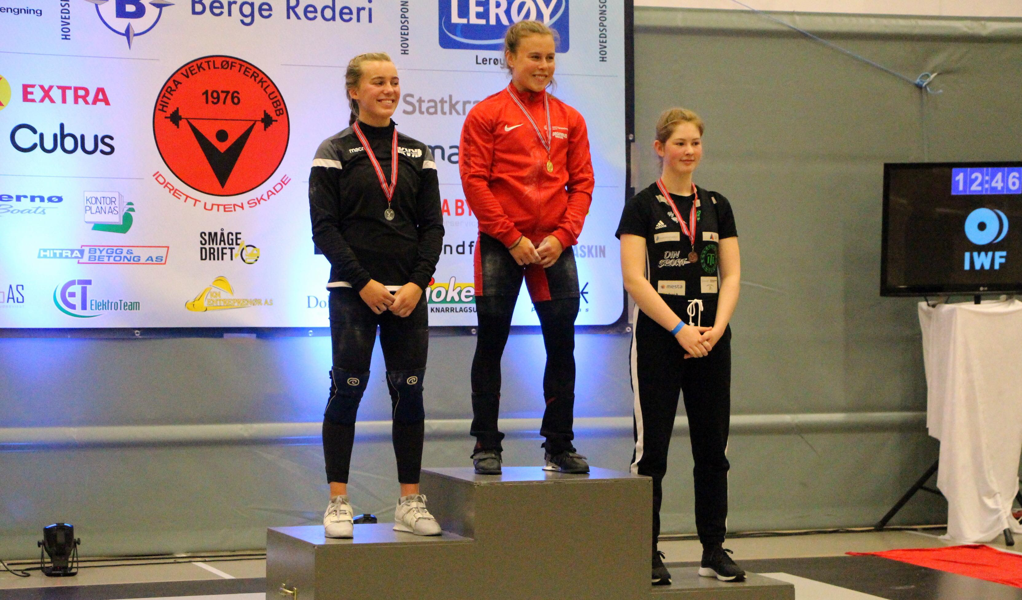 Hedda Torp_NM-junior_vektløfting-2020