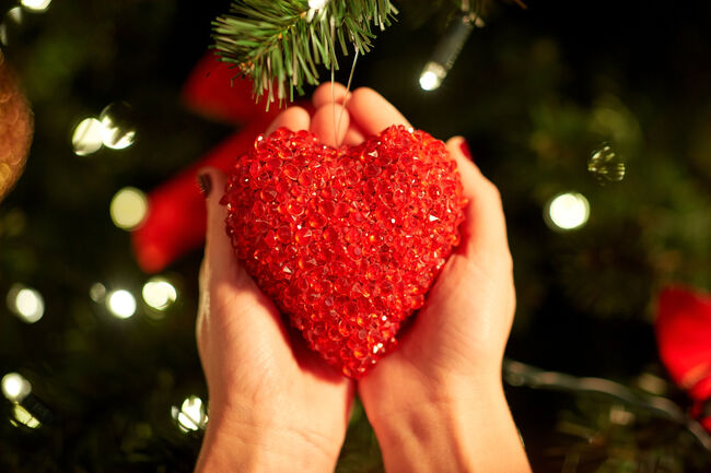 Bilde av julehjerte